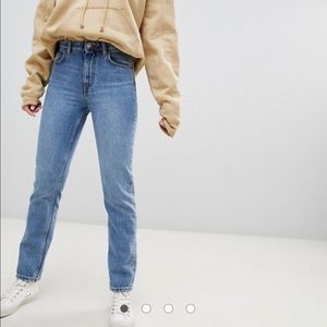 ASOS Weekday High Waisted Mom Jeans